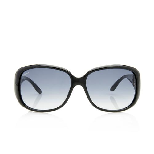 Gucci Crystal GG Sunglasses