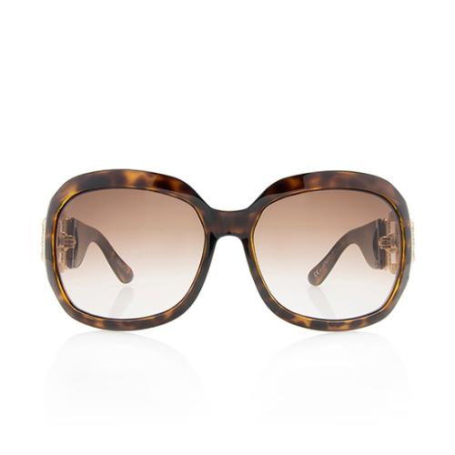 Gucci Crystal Horsebit Sunglasses