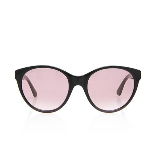 Gucci Crystal Logo Sunglasses
