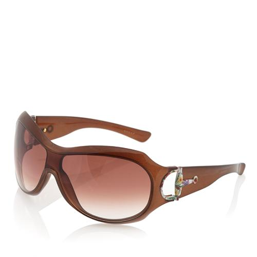 Gucci Gradient Shield Sunglasses