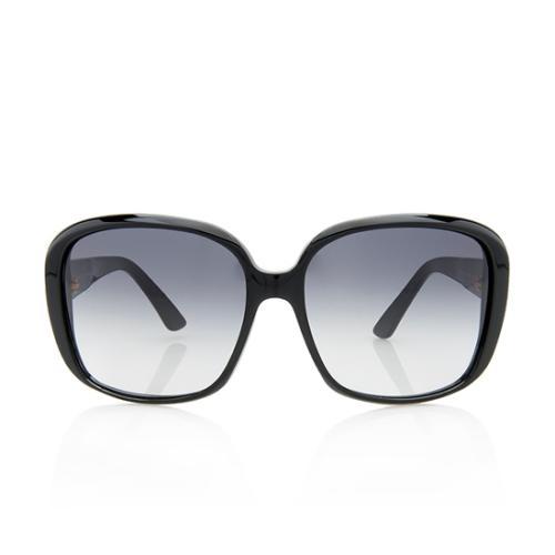 Gucci Logo Oversized Sunglasses