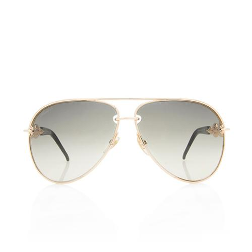 Gucci Marina Chain Aviator Sunglasses