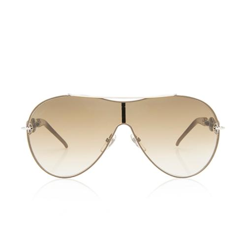 Gucci Marina Chain Aviator Sunglasses