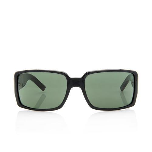 Gucci Square GG Web Sunglasses