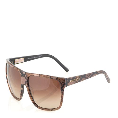 Jimmy Choo Roxanne Rectangle Sunglasses