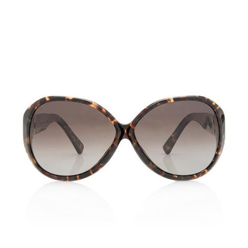 Louis Vuitton Oversized Tortoise Soupcon Sunglasses