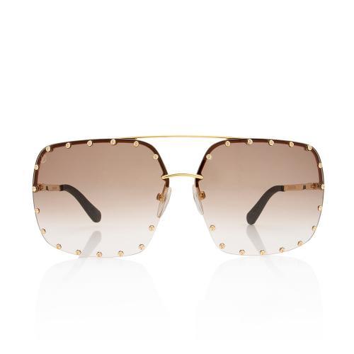 Louis Vuitton Square The Party Sunglasses