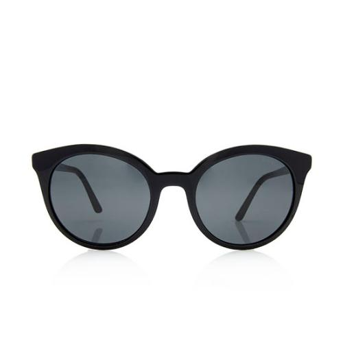 Prada Cat-Eye Pantos Logo Sunglasses