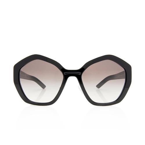 Prada Oversized Pentagonal Sunglasses