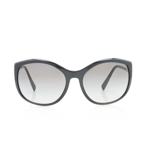 Prada Round Cat Eye Sunglasses