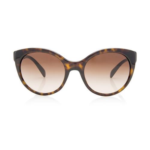 Prada Round Cat Eye Sunglasses