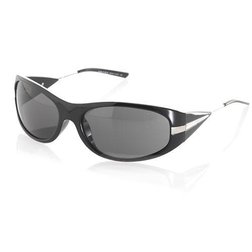 Prada Unisex Oval Frane Sunglasses