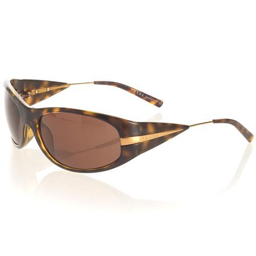 Prada Unisex Oval Sunglasses
