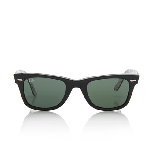 nuovo prodotto bf234 28937 Ray-Ban Limited Edition London Olympic Print Wayfarer Sunglasses