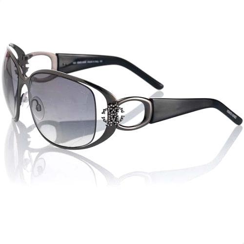 Roberto Cavalli Plastic Open-Lens Sunglasses