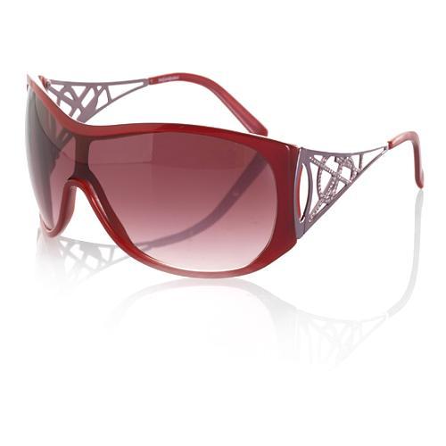Yves Saint Laurent Crystal Sheild Sunglasses