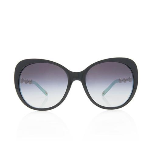 Tiffany & Co. Crystal Cat Eye Sunglasses