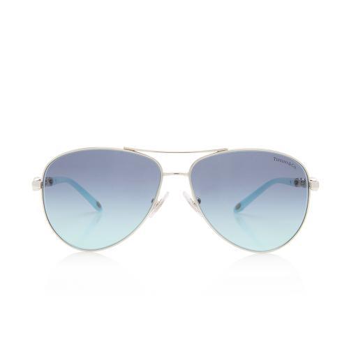 Tiffany & Co. Infinty Aviator Sunglasses
