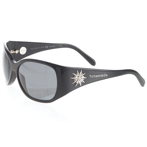 Tiffany & Co. Oval Diamond Starburst Sunglasses