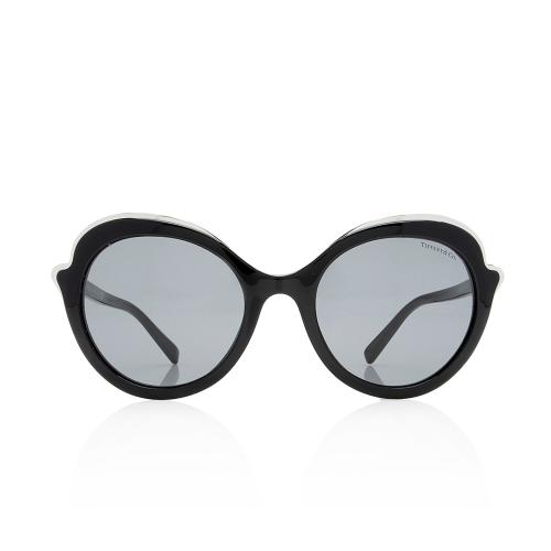 Tiffany & Co. Round Metal Edge Sunglasses