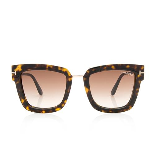 Tom Ford Square Lara Sunglasses