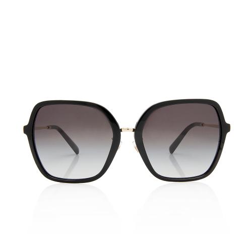 Valentino Square Stud Sunglasses