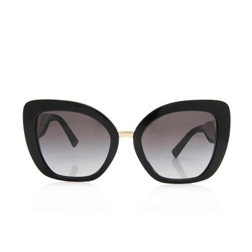 Valentino Square V Logo Sunglasses