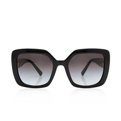 Valentino Square V Sunglasses