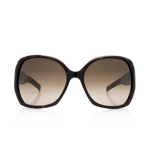 Valentino Studded Square Sunglasses