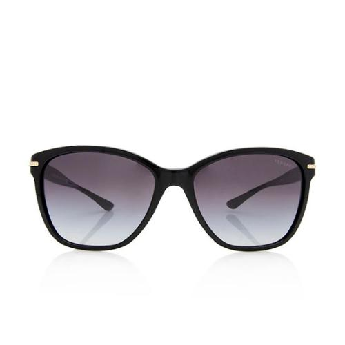 Versace Crystal Cat Eye Sunglasses