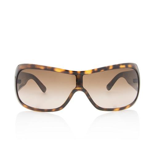 Versace Logo Shield Sunglasses