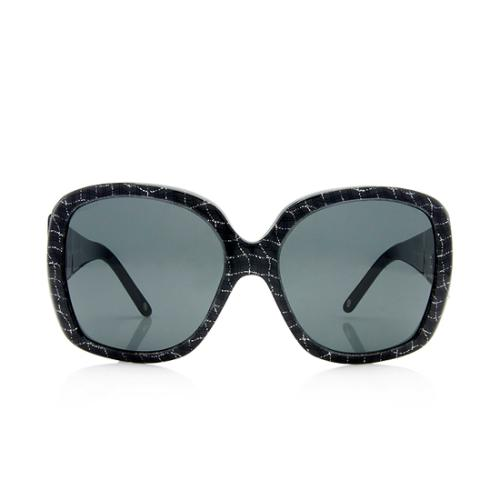 Versace Medusa Glitter Sunglasses