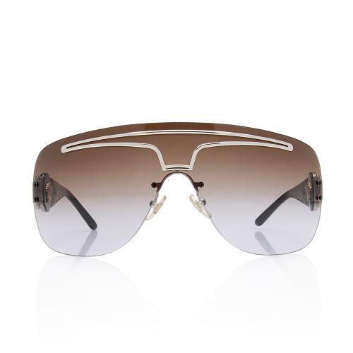 Versace Medusa Shield Sunglasses