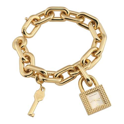 Burberry Chain Link Charm Watch