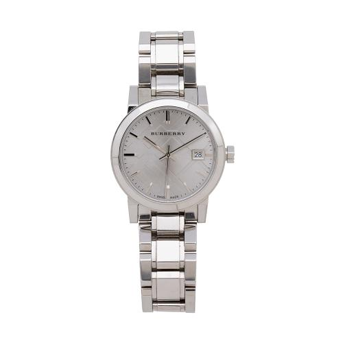 Burberry Stainless Steel The City Watch