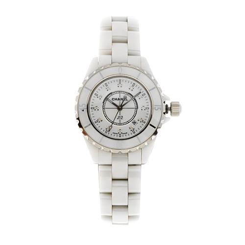 Chanel J12 Ceramic Diamond Marker Watch