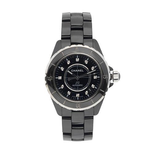 Chanel J12 Diamonds Ceramic Watch
