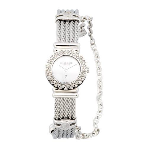 Charriol St Tropez Diamond Bezel Watch