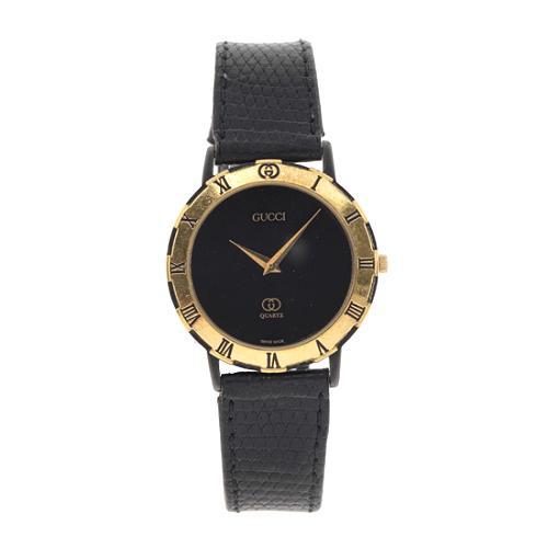 Gucci 3200 Roman Numeral & Lizard Watch