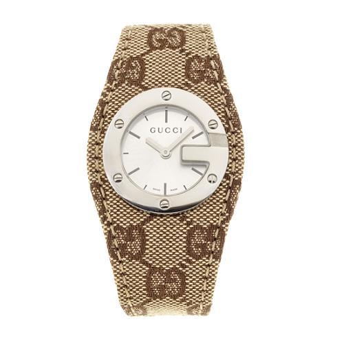Gucci GG Fabric Bandeau Watch
