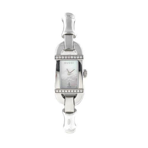 Gucci Silver Bamboo Watch