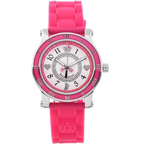 Juicy Couture Hot Pink Jelly Watch