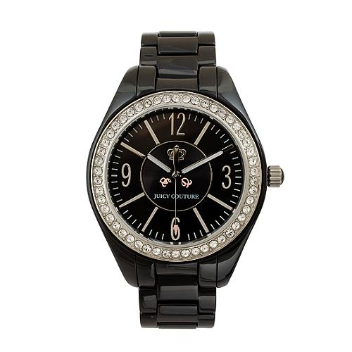 Juicy Couture Lively Black Ceramic Watch