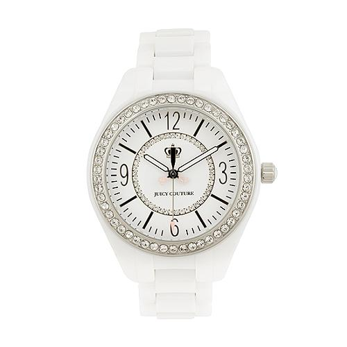 Juicy Couture Lively White Ceramic Watch