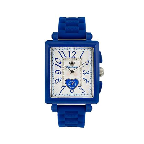 Juicy Couture Socialite Blue Jelly Watch - FINAL SALE