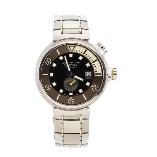 Louis Vuitton Tambour XL Automatic Diving 3L Steel Bracelet Watch