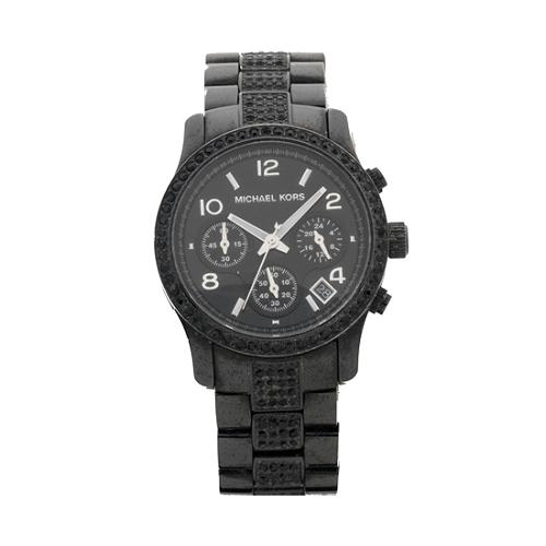 Michael Kors Black Watch - FINAL SALE