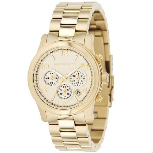 Michael Kors Camera Gold Watch
