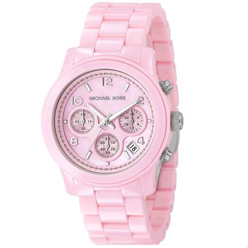 Michael Kors Pink Ceramic Watch