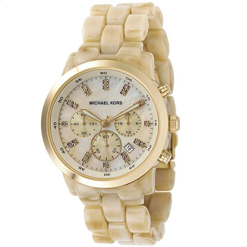 Michael Kors Round Gold Watch